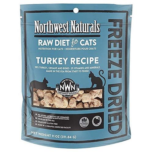 Northwest Naturals 脫水凍乾貓糧 - 火雞 11oz
