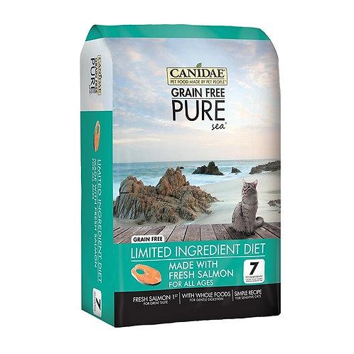 Canidae Pure Sea 無穀物三文魚全貓糧 (5LBS/10LBS)
