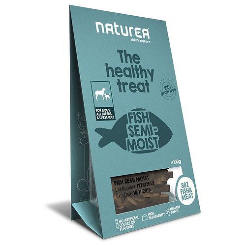 Naturea 鮮肉半濕小食 (犬用) - 魚肉 100g