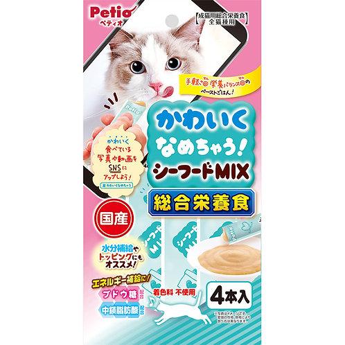 Petio 貓用綜合營養湯汁小食-混合海鮮味