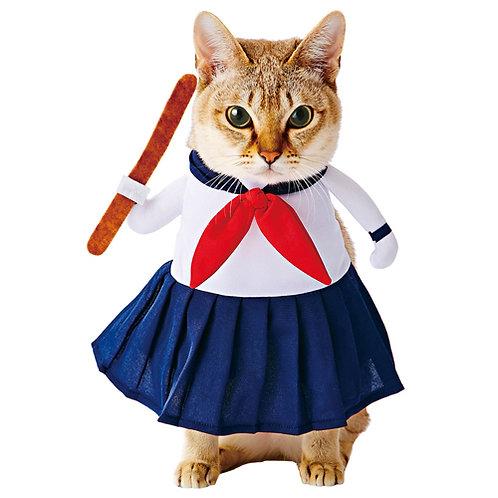 Petio 貓用變裝水手服