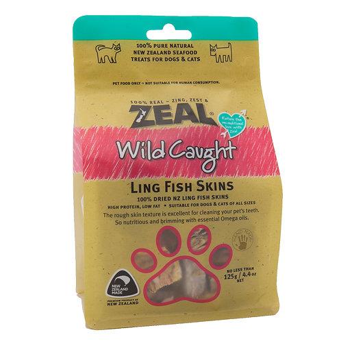 ZEAL 紐西蘭狗小食 - 鱈魚皮 125g