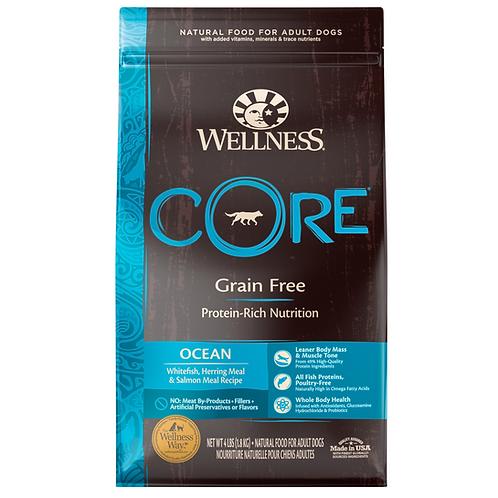 Wellness Core無穀物狗糧-海洋魚配方(4LB/12LB/22LB)