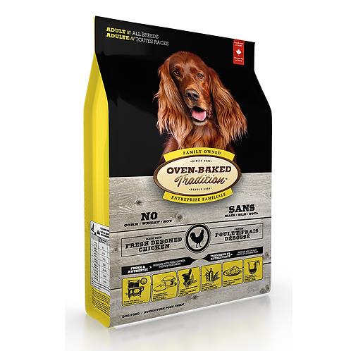 Oven-Baked 標準粒成犬北美走地雞配方 (5LBS/12.5LBS/25LBS)