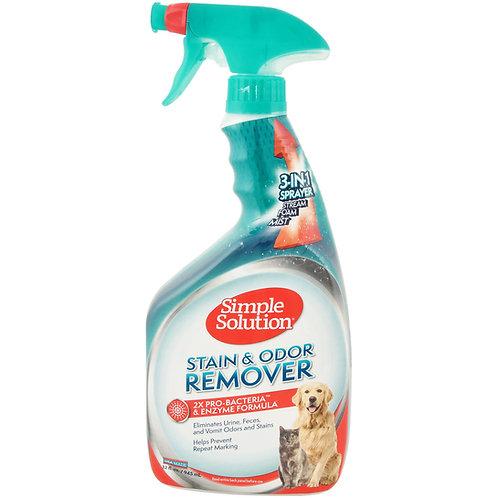 Simple Solution 去漬除臭清潔劑 32oz