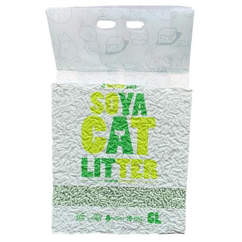 *新包裝*SOYA綠茶豆腐貓砂 6L