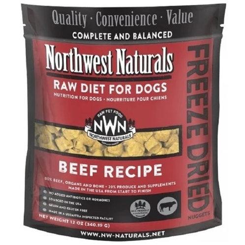 Northwest Naturals脫水凍乾狗糧 - 牛肉 12oz