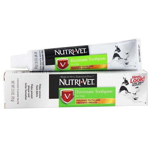 Nutri-Vet 犬用雞肉味酵素牙膏