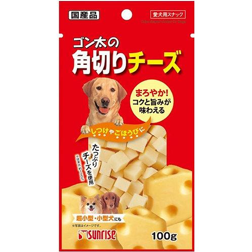 日本直送 Sunrise 狗小食 - 角切芝士粒 100g