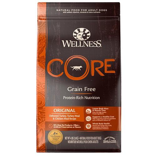 Wellness Core無穀物狗糧-經典原味配方(4LB/12LB/24LB)