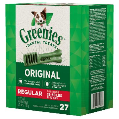 Greenies REGULAR狗用潔齒牙骨 x 27支