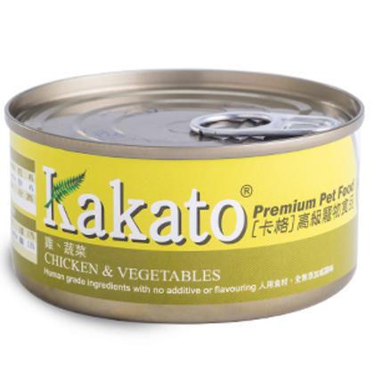 KAKATO 雞蔬菜 170G