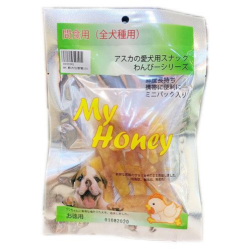 My Honey小食系列 - 雞肉包蕃薯 100g