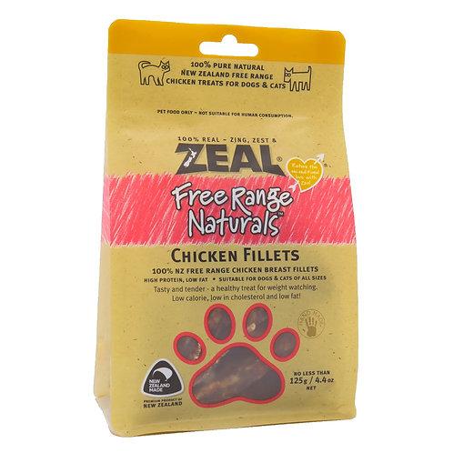 ZEAL 紐西蘭小食 - 走地雞肉片 125g