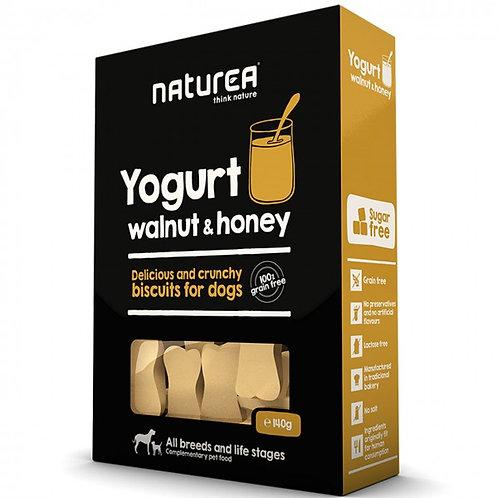 Naturea無榖物手造狗曲奇 - 核桃蜂蜜乳酪 140g