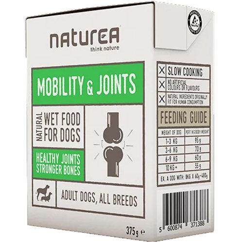 Naturea無穀物單一蛋白狗濕糧-關節配方(雞肉沙甸魚) 375g