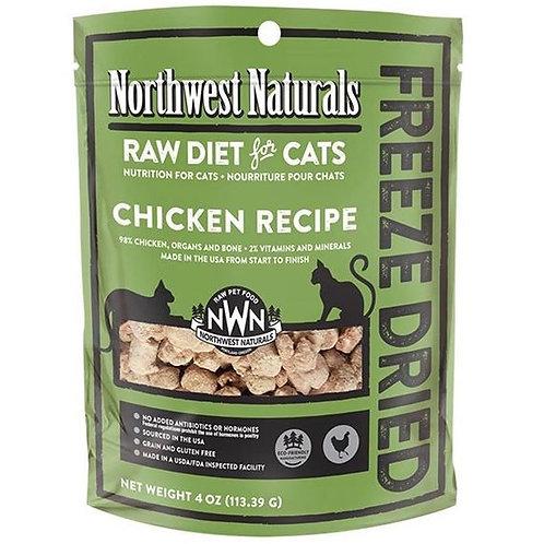 Northwest Naturals 脫水凍乾貓糧 - 雞肉 11oz
