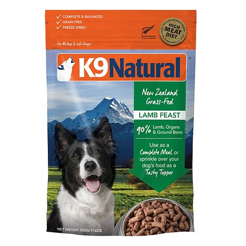 K9 Natural 無穀物凍乾脫水鮮肉狗糧 - 羊肉