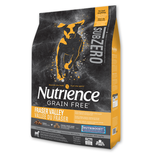 Nutrience無穀物-  凍乾雞肉火雞海魚全犬配方 (2.27KG/10KG)