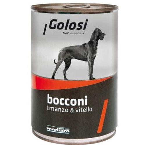Golosi 狗罐頭 - 牛肉小牛肉405g