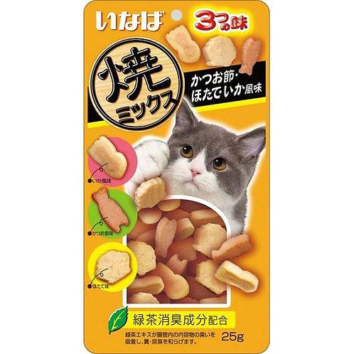 CIAO三味小魚燒(木魚/帶子/鰹魚)