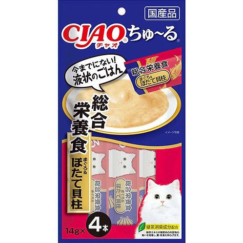 CIAO 綜合營養 吞拿魚帶子醬