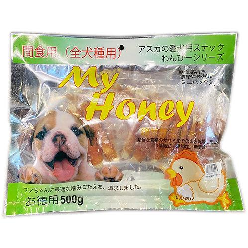 My Honey小食系列 - 雞肉包鱈魚絲 500g