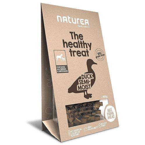 Naturea 鮮肉半濕小食 (犬用) - 鴨肉 100g