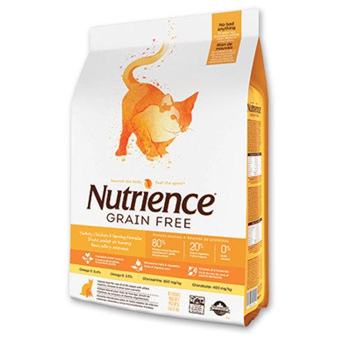 Nutrience無穀物-  火雞雞鯡魚全貓配方 (2.5KG/5KG)