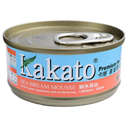 KAKATO 鯛魚慕絲 70G