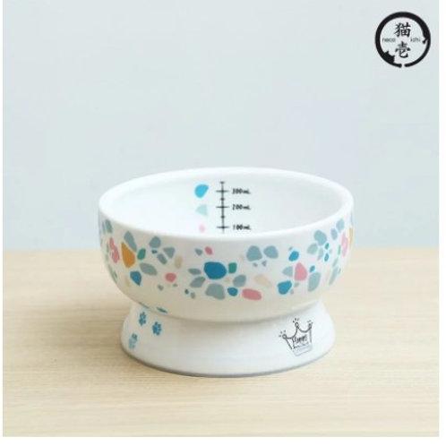 貓壹 Necoich 2021限量印花樂系列(貓用) - 標準瓷水碗