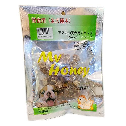 My Honey 小食系列 - 鱈魚雞肉粒100g