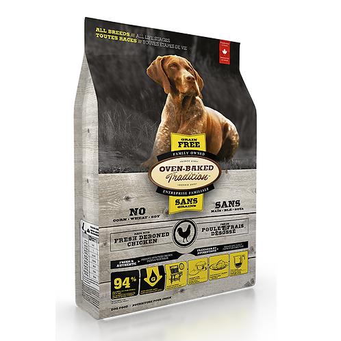 Oven-Baked 標準粒成犬無穀物雞魚配方 (5LBS/25LBS)