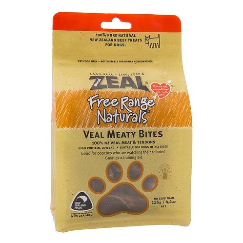 ZEAL 紐西蘭狗小食 - 牛仔柳 125g