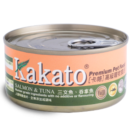 KAKATO 三文魚吞拿魚 70g