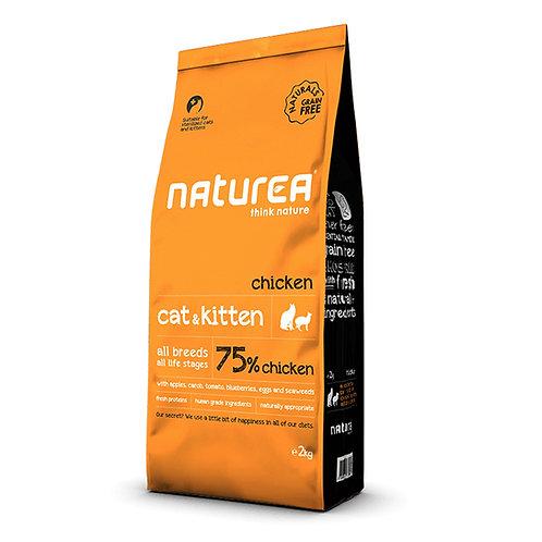 Naturea Naturals 全天然鮮肉糧-全貓鮮雞肉配方 (2KG/7KG)