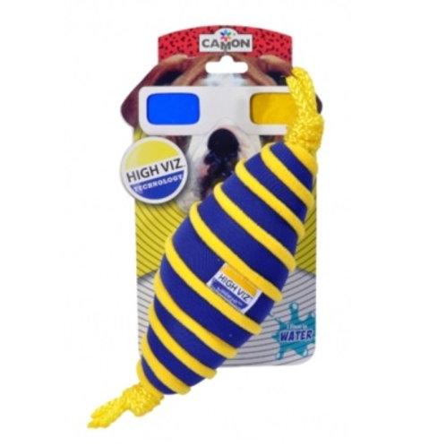 意大利 Camon HighViz浮水狗玩具 - 美式足球 25cm