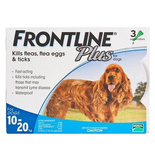 Frontline Plus 中型犬滴頸劑