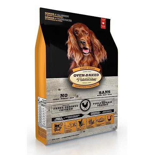 Oven-Baked 標準粒高齡減肥犬雞配方 (5LBS/12.5LBS/25LBS)