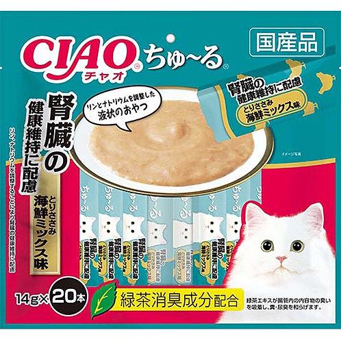 CIAO 腎臓健康雞肉海鮮雜錦醬