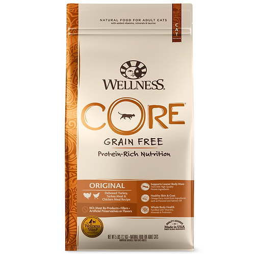 Wellness Core無穀物貓糧-經典原味配方(5LB/11LB)