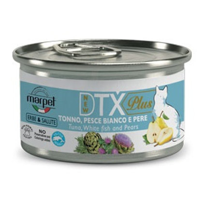 Marpet DTX PLUS系列 貓濕糧 - 吞拿魚白魚梨 85g