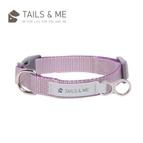 Tails & Me 經典尼龍系列 狗頸圈 深紫灰紫 (S/M/L)