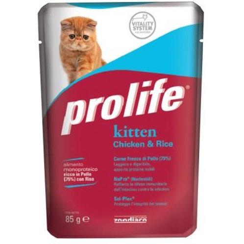 Prolife幼貓濕糧-雞肉飯 85g