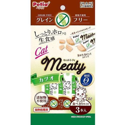Petio 貓用無穀物MEATY肉醬小食-鰹魚味
