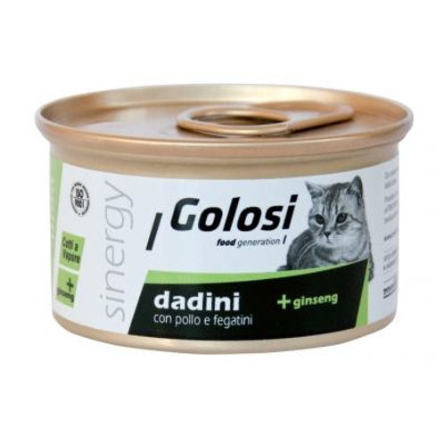 Golosi 人蔘系列貓罐頭 - 雞肉雞肝 85g
