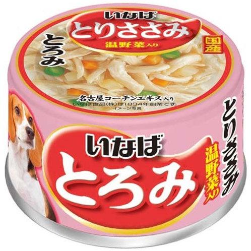 CIAO 狗罐頭 - 雞肉清蒸蔬菜 80g