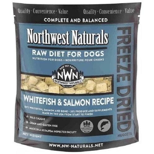 Northwest Naturals 脫水凍乾狗糧 - 白魚三文魚 12oz