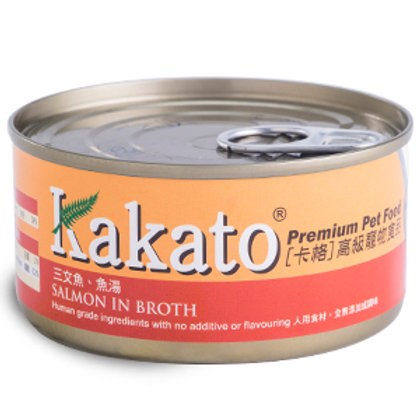 KAKATO 三文魚魚湯 70G