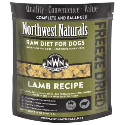 Northwest Naturals脫水凍乾狗糧 -羊肉 12oz